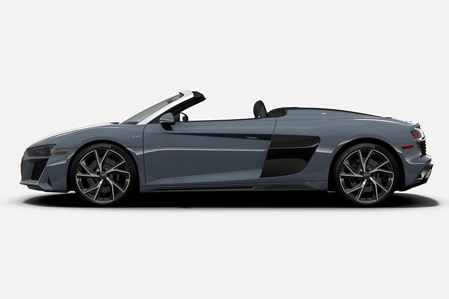 2021 Audi R8 RWD Coupé und Spyder Seite
