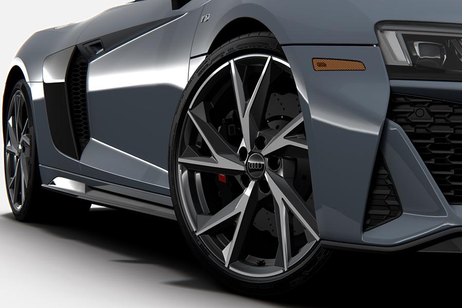 2021 Audi R8 RWD Coupé und Spyder Rad