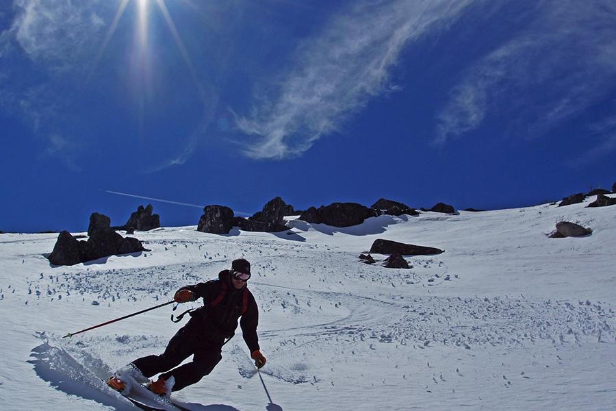 Mount Stirling Melbourne Schnee