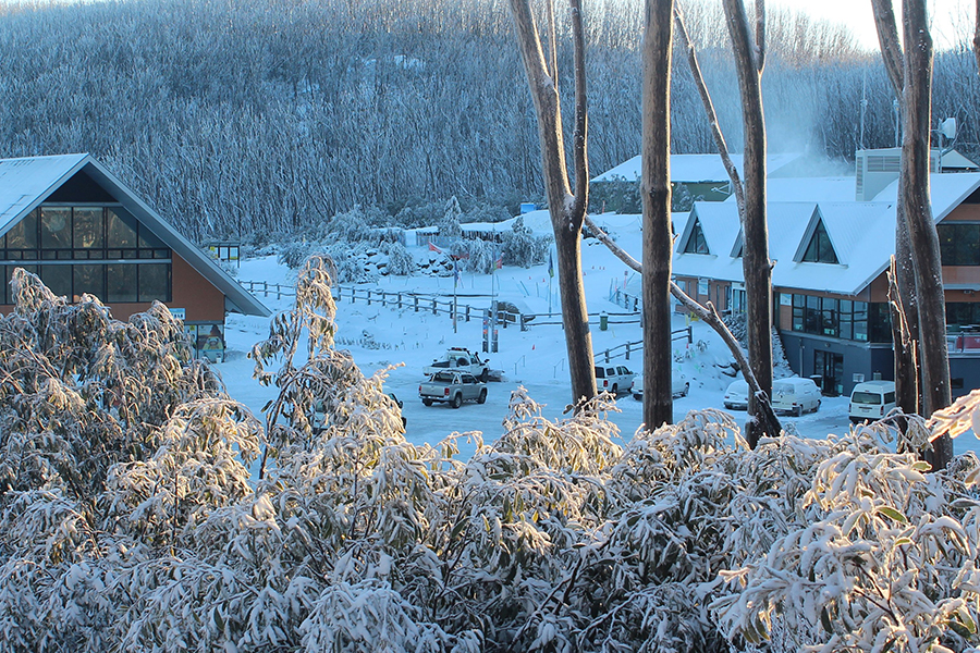 Lake Mountain Alpine Resort Melbourne Schnee