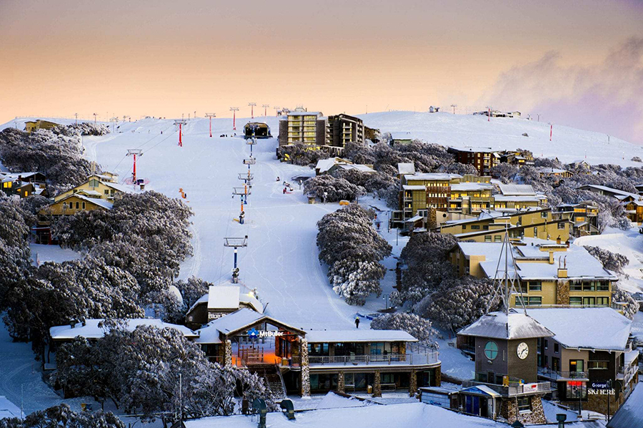 Mount Buller Melbourne Schnee