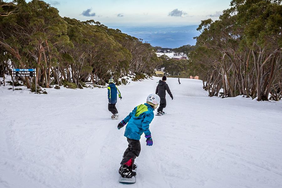 Mount Baw Baw Alpine Resort Melbourne Schnee