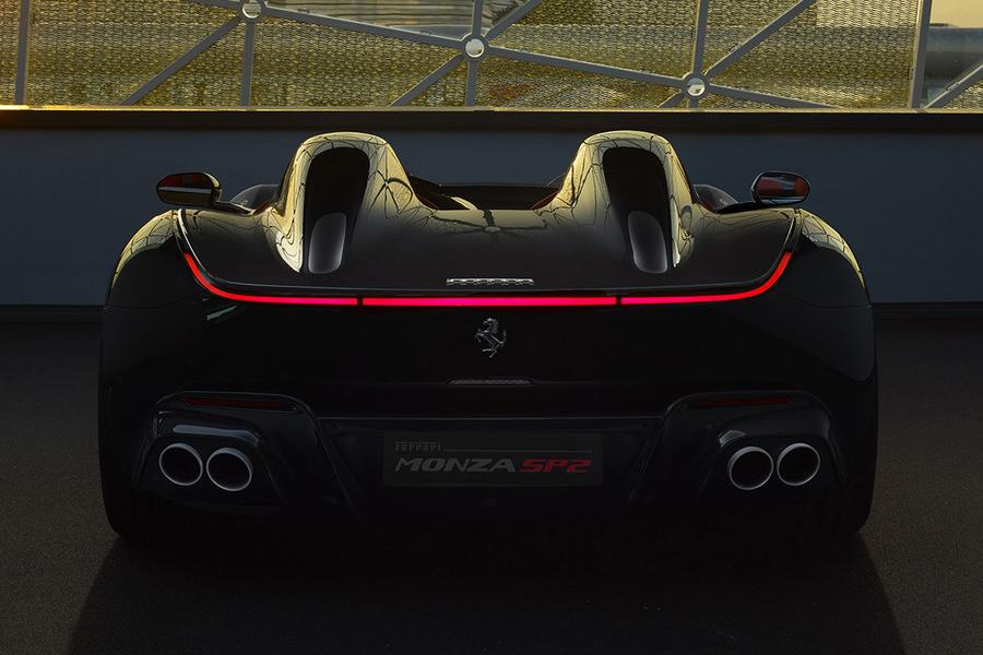 Ferrari Monza SP2 zurück