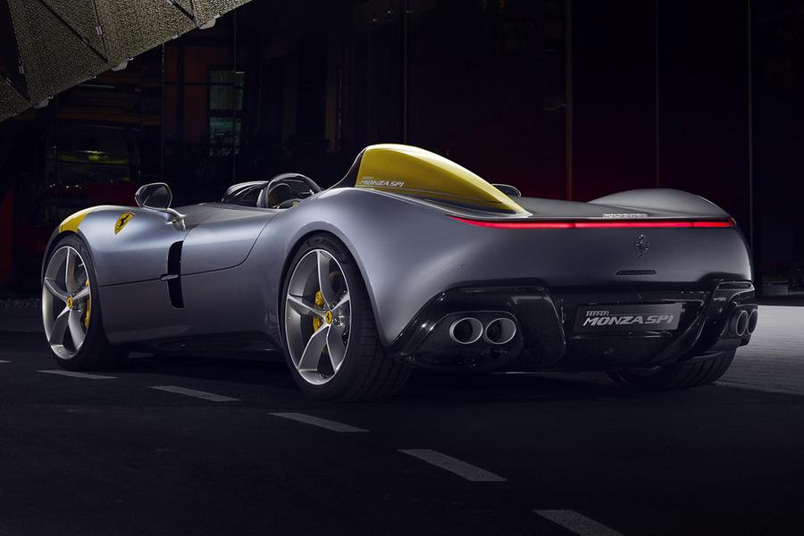 Ferrari Monza SP1 zurück