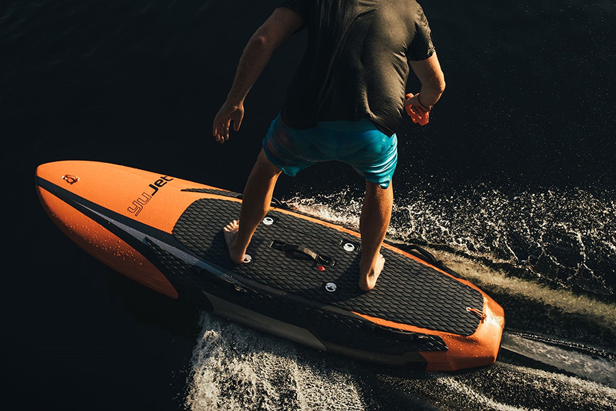 Christmas Gift Guide Outdoorsman YuJet Electric Surfboard