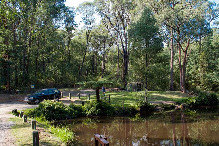 Kostenlose Campingplätze in Melbourne Kurth Kiln