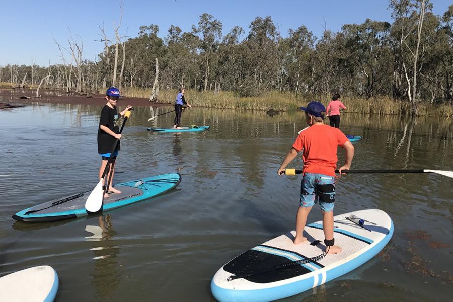 Kostenlose Campingplätze in Melbourne Gunbower Island