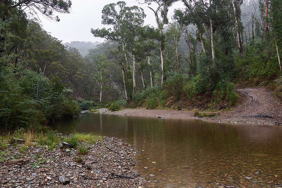Kostenlose Campingplätze in Melbourne Aberfeldy River