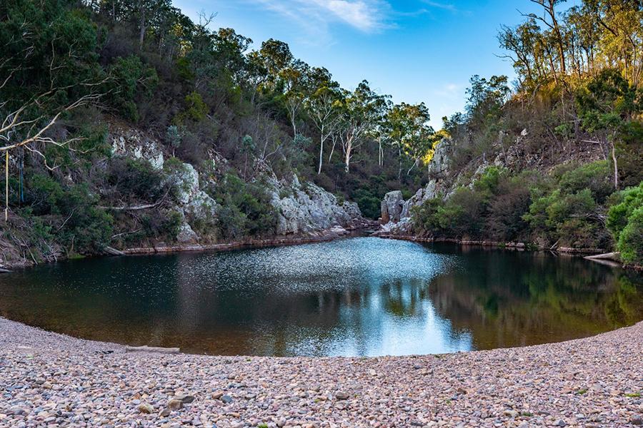 Kostenlose Campingplätze in Melbourne Blue Pool