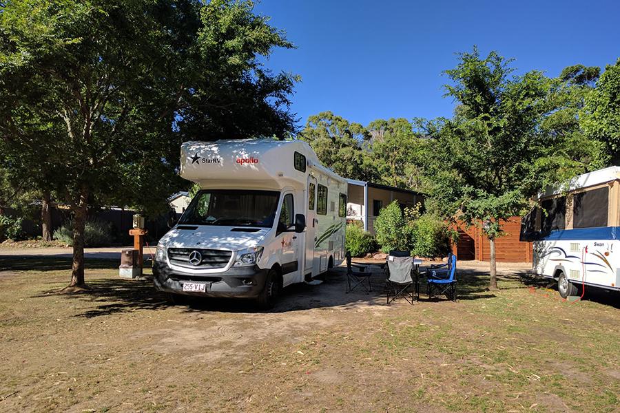 Kostenlose Campingplätze in Melbourne Plantation, den Grampians