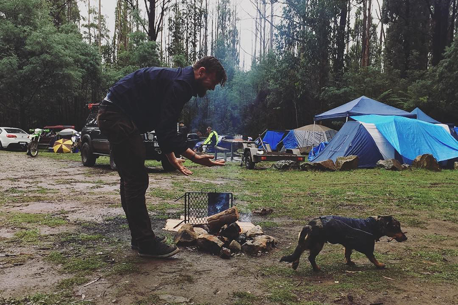 Kostenlose Campingplätze in Melbourne Andersons Garden