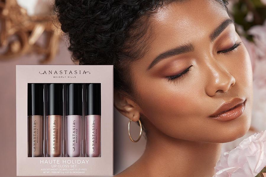 ANASTASIA BEVERLY HILLS Haute Holiday Mini Lip Gloss Set Christmas Gift Guide For Her