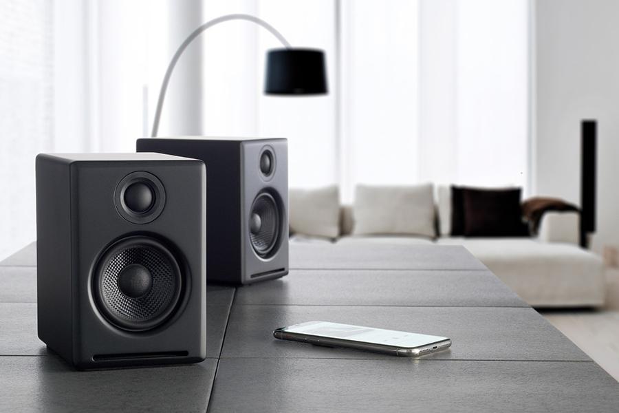 Audioengine A2 + Plus Drahtloser Lautsprecher Bluetooth Weihnachtsgeschenkführer Musikliebhaber