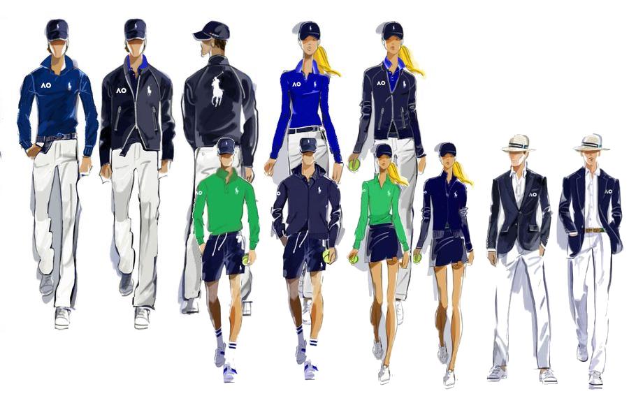 Ralph Lauren als offizieller Ausstatter der Australian Open benannt