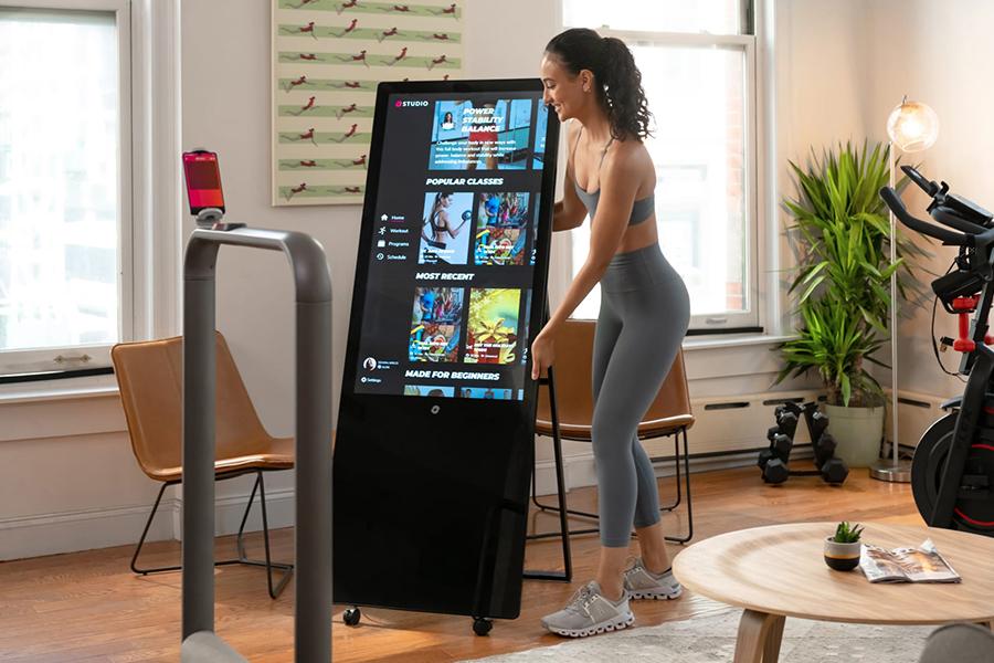 Trainieren Sie intelligenter mit dem Studio Smart Home Gym Hub