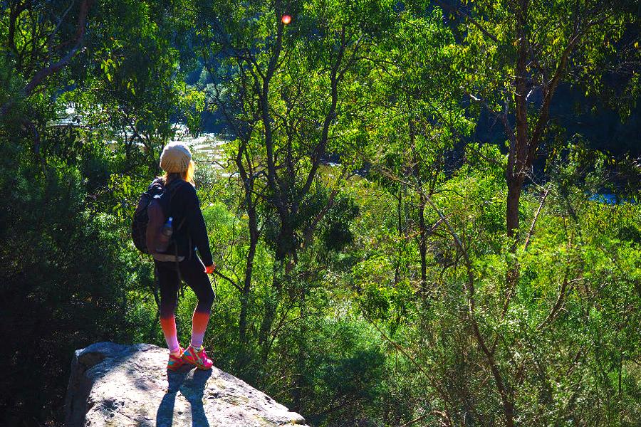 Wanderweg Iguana Creek - Höhle von Nargun