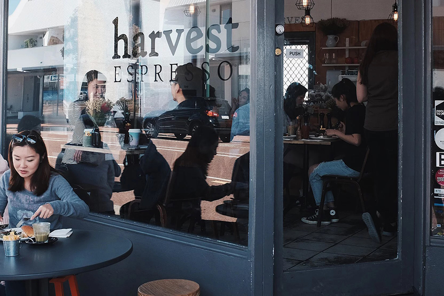 Harvest Espresso Coffee Shops Cafes in Perth