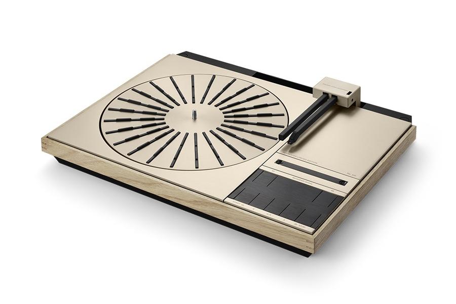 B & O Beogram 4000c Plattenspieler-Seitenansicht