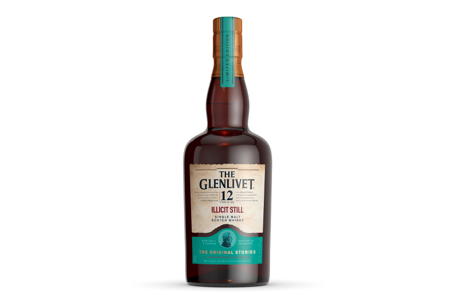 Der 12 Jahre alte illegale Whisky von Glenlivet umarmt seine rebellische Geschichte