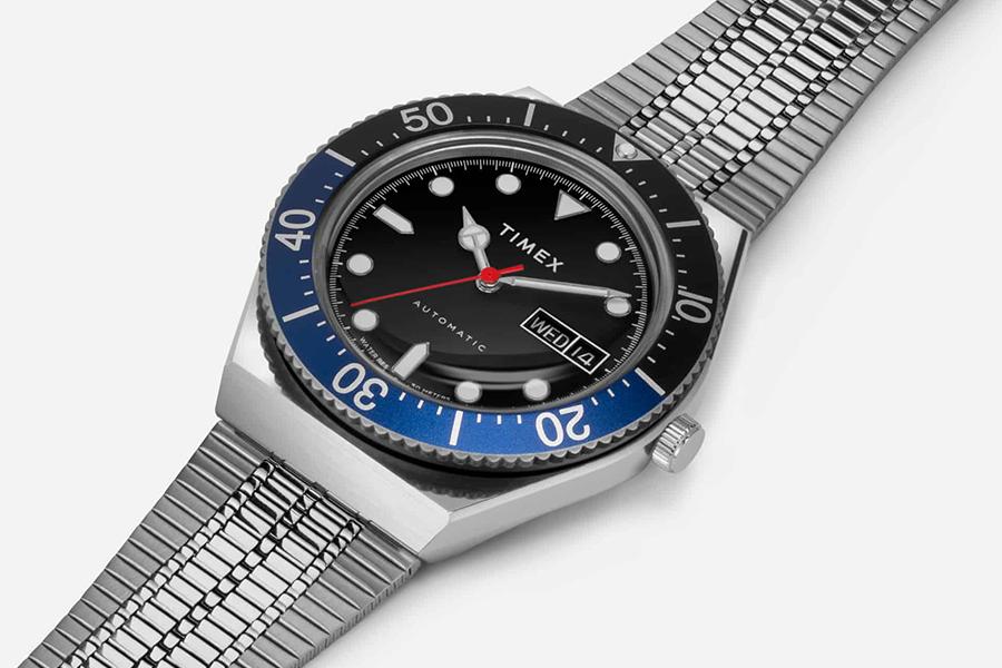 Timex M79 Schwarze Frontblende