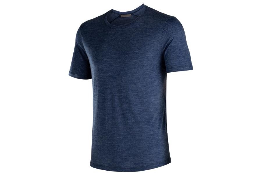 Icebreaker Spring Summer blaues Hemd