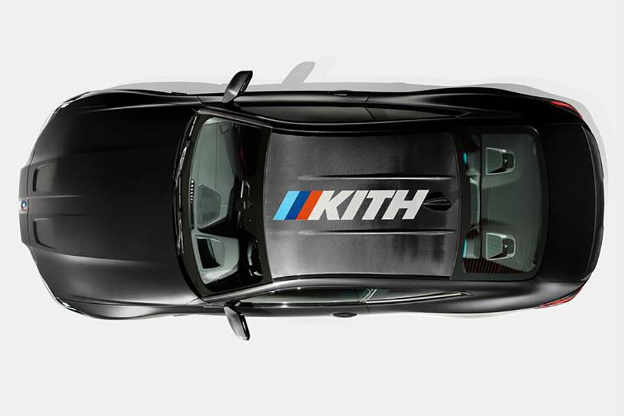 M4 Wettbewerb x Kith Draufsicht