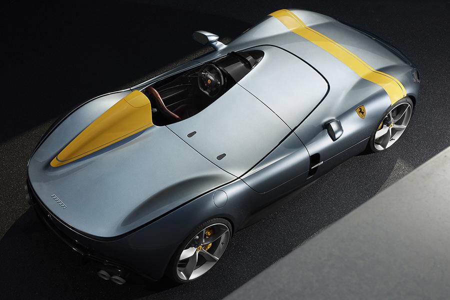 Ferrari Monza SP1 Draufsicht