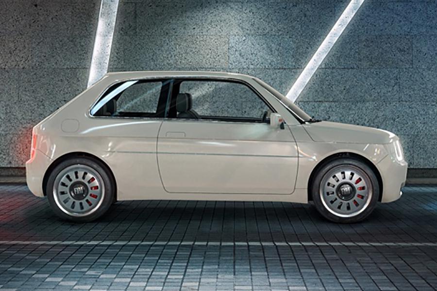 Fiat 126 Vision Seitenansicht