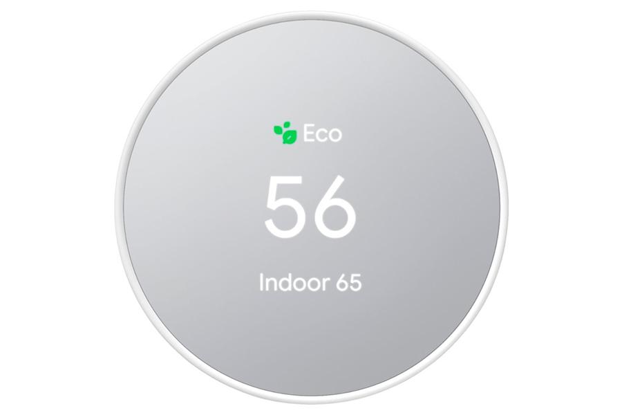 Google Thermostat vorne