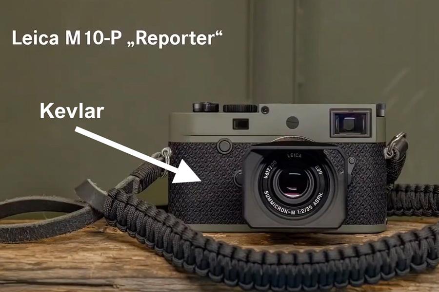 Leica M10 P Reporter mit Riemen