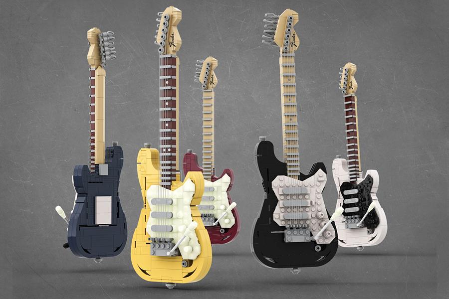 Lego Stratocaster Set
