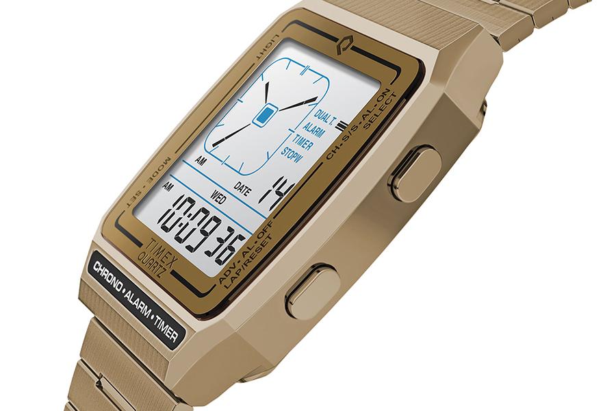 Timex Q Neuauflage mit digitaler LCA-Seite
