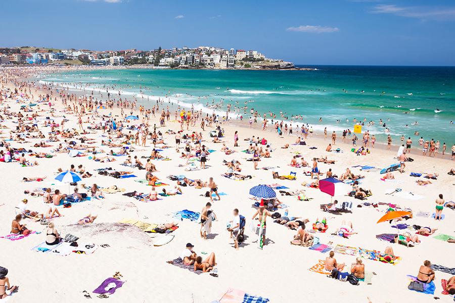Beste Strände in Sydney Bondi