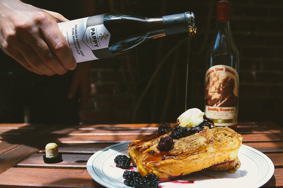 Pappy & Company Barrel-Aged Maple Syrup Christmas Gift Guide Boozehound