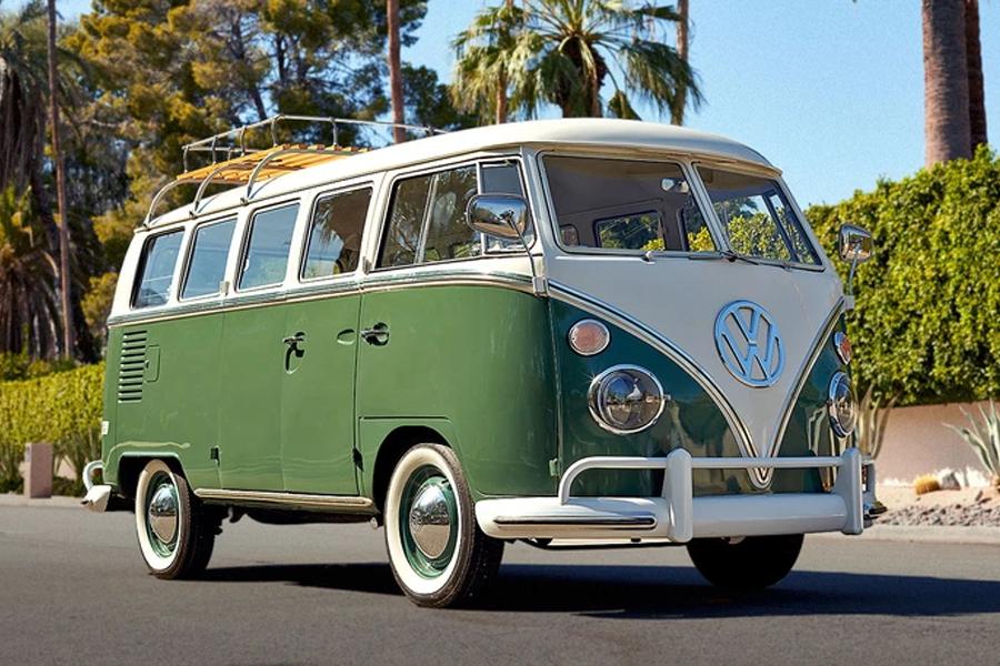 VW Bus Tesla