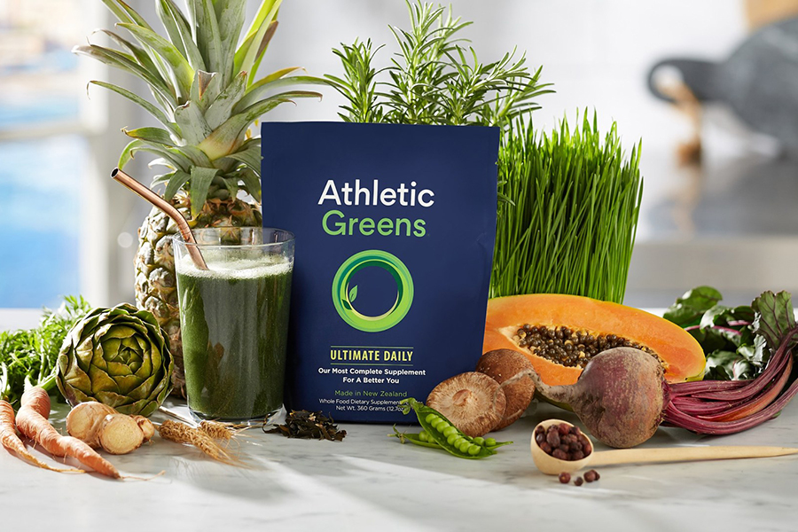 Athletic Greens Ultimate Daily Christmas Gift Guide Corporate