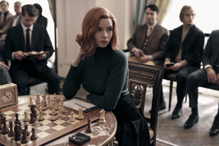 Das Queens Gambit bricht Netflix-Zuschauerrekorde