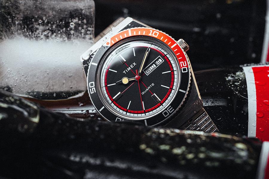 Huckberry x Timex Cola Sportuhr Limited Edition Weihnachtsgeschenkführer Horologe