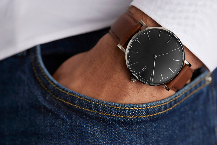 SOLIOS Solar Powered Watch Christmas Gift Guide Tech Head