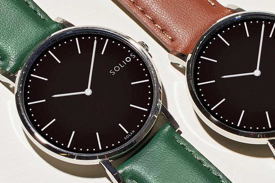 Solios Uhren finden die perfekte Balance zwischen Nachhaltigkeit und Stil