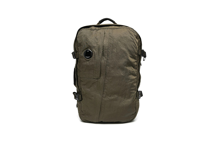 C.P. Company Logo Plaque Backpack Christmas Gift Guide Stylish Man