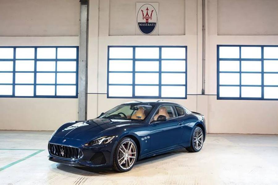 Maserati GranTurismo Sport Edition V8 angesaugt