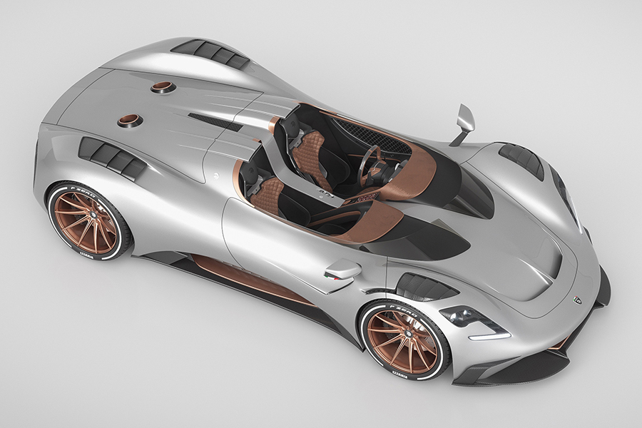 Ares S1 Project Spyder oben