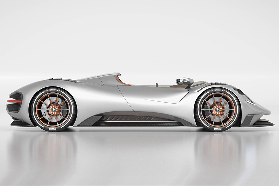 Ares S1 Project Spyder Seite