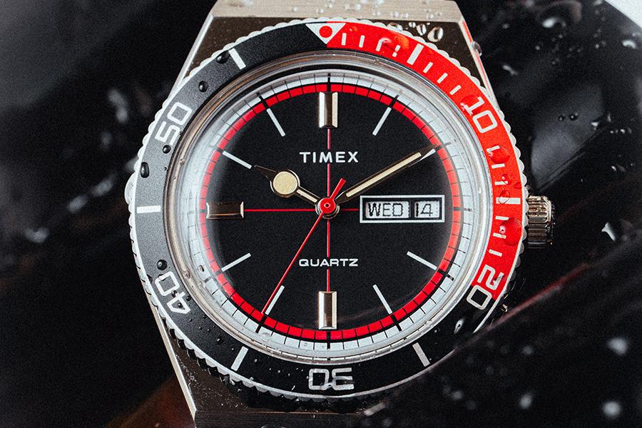 Huckberry x Timex Cola Sportuhr Limited Edition vorne