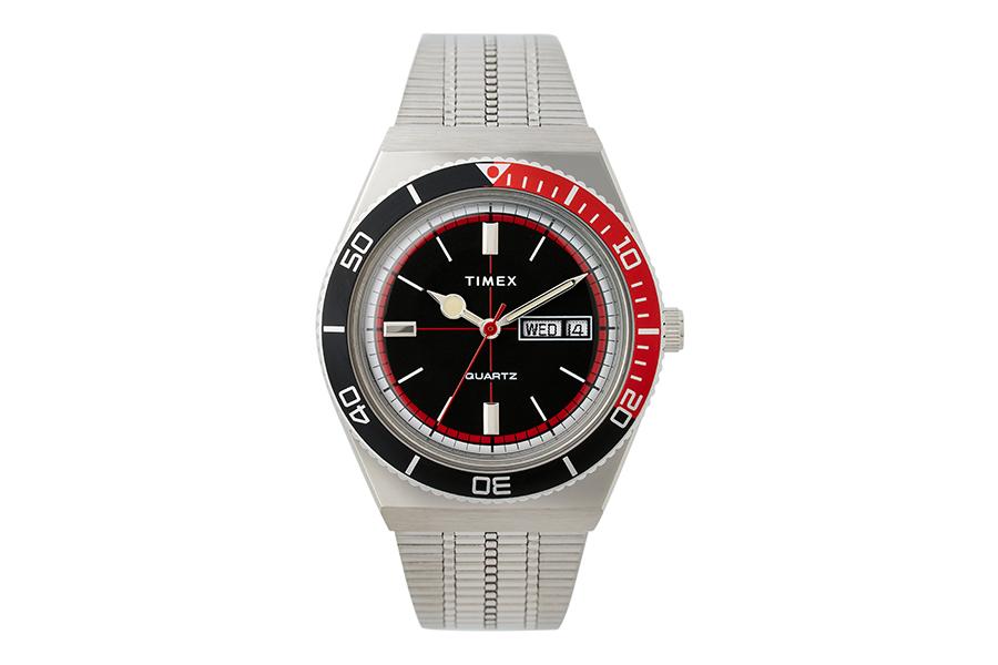 Huckberry x Timex Cola Sportuhr Limited Edition Vollansicht