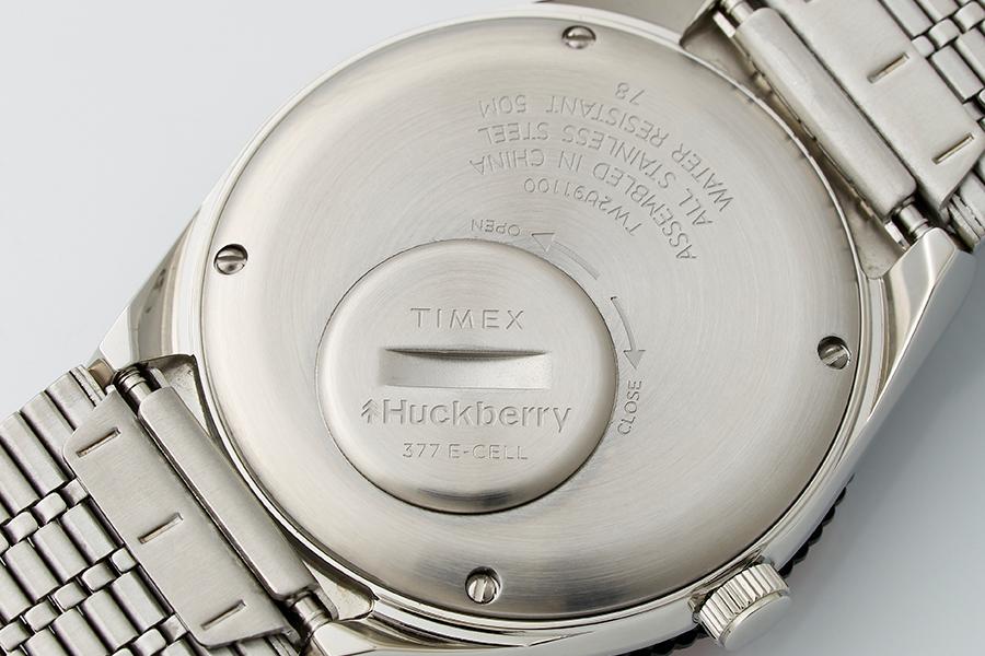 Huckberry x Timex Cola Sportuhr Limited Edition zurück