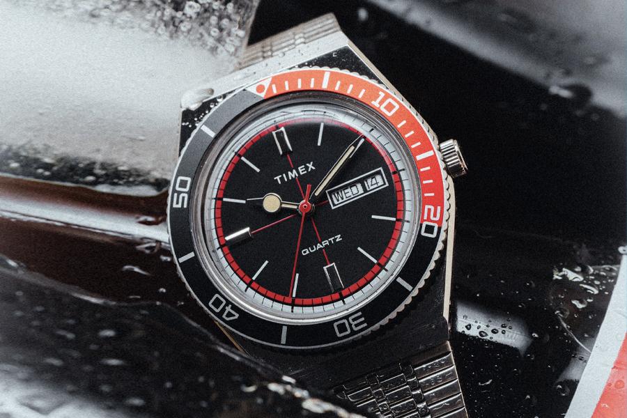 Huckberry Teams mit Timex für Limited Cola Sport Watch