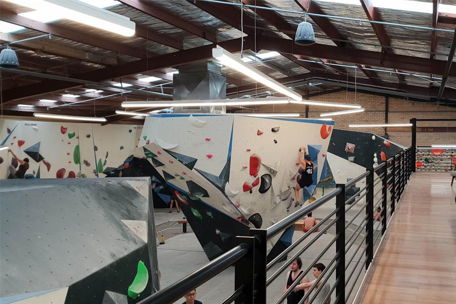 Urban Climb Gym in Melbourne