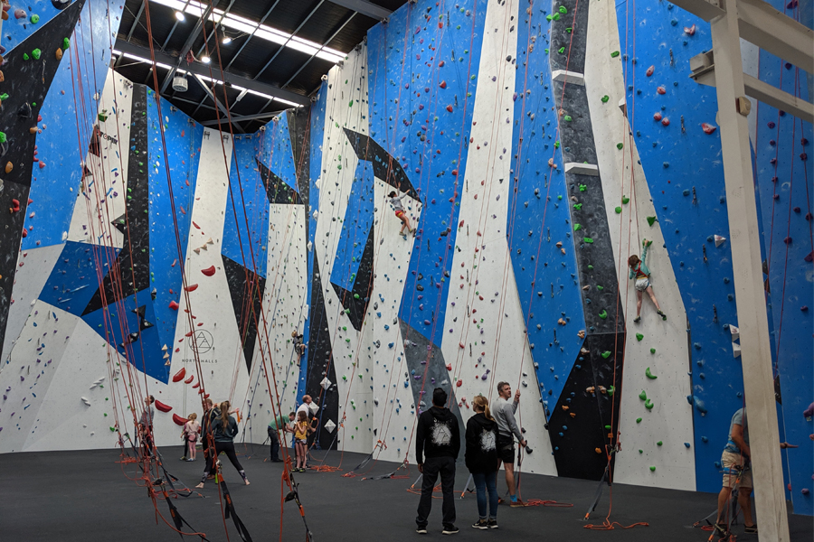North Walls Rock Climbing in Melbourne